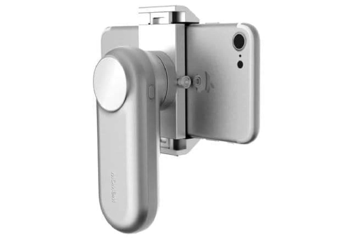美しいデザインのスマートフォン用スタビライザー「Fancy」