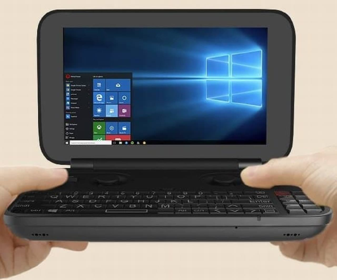 ポケットに入るWindows 10 PC「GPD Pocket」