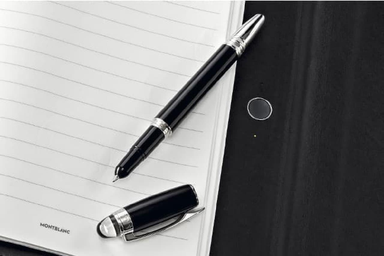モンブランのノート&ボールペン