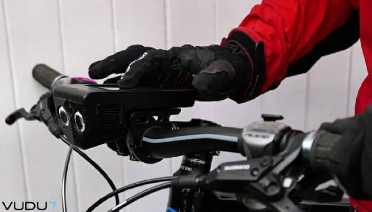 自転車用アクセサリーVudu7「V」