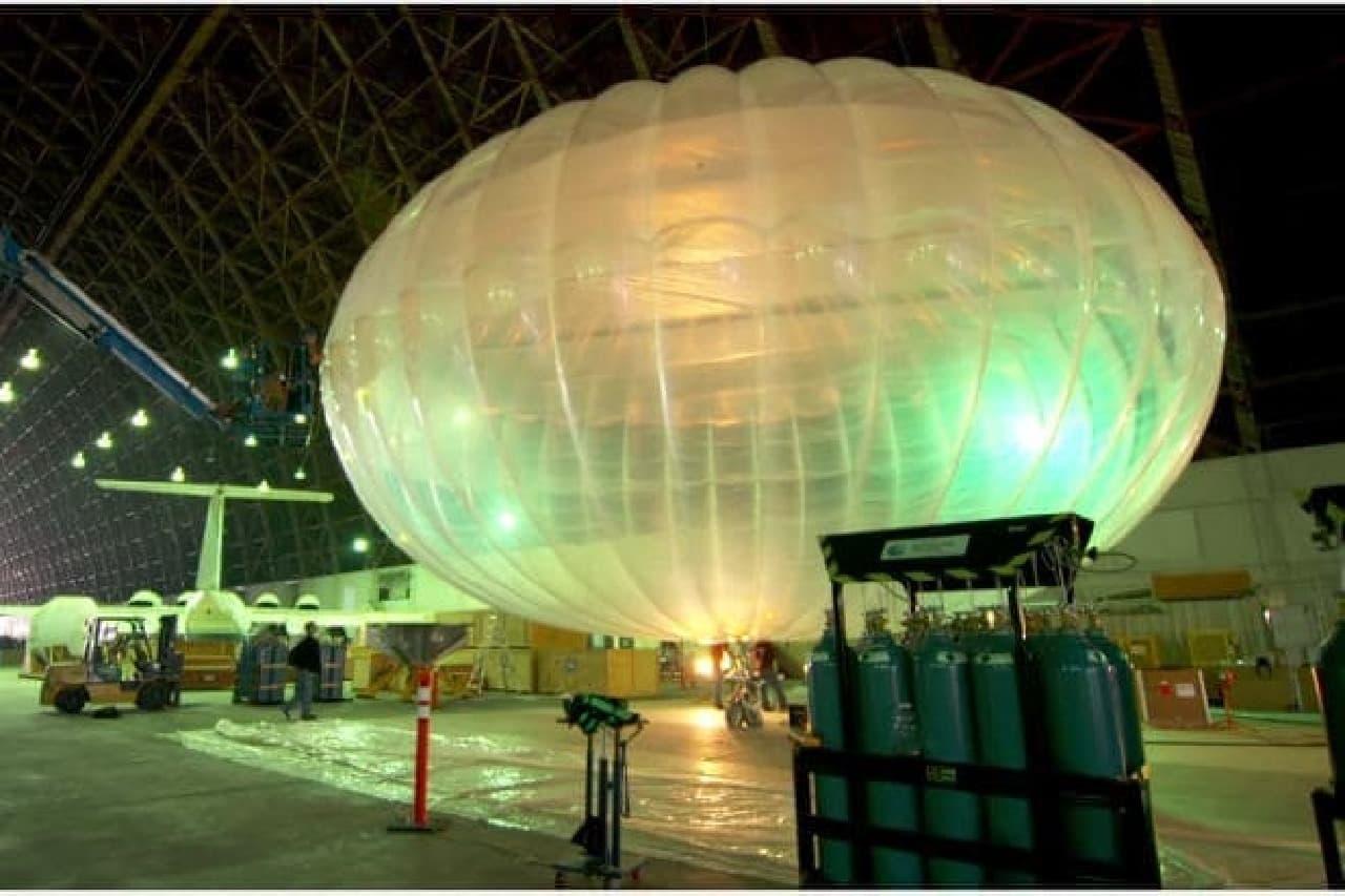 Googleのルーン気球