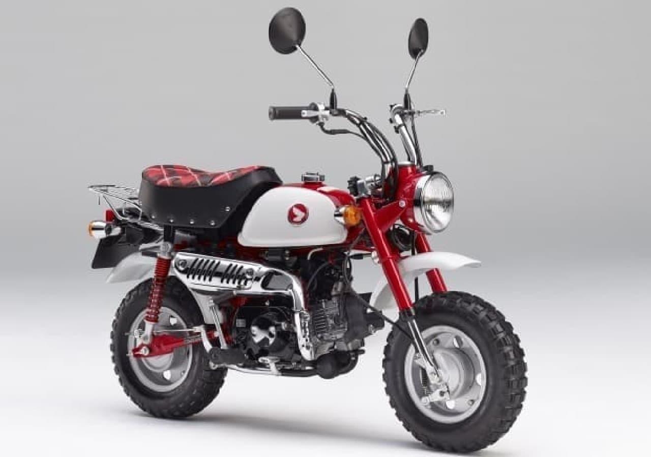 ホンダ モンキーに発売50周年記念モデル