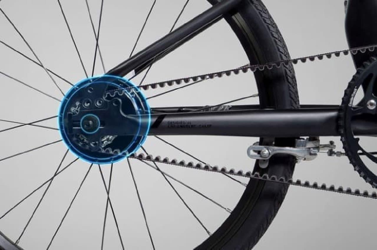 電動アシストに見えない電動アシスト自転車「Volta」