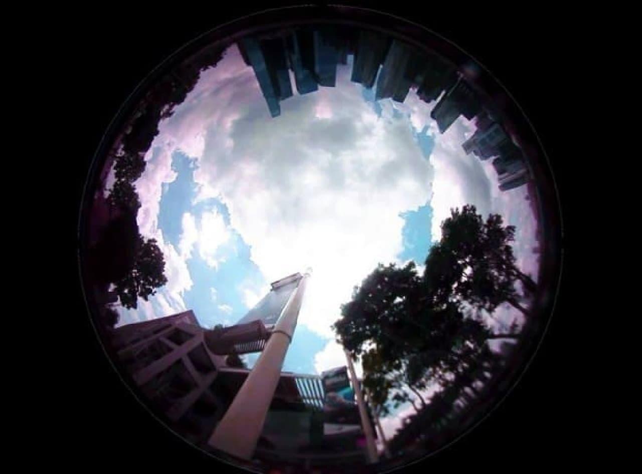 360度写真を手軽に撮影できる腕時計タイプのカメラ「Beoncam」