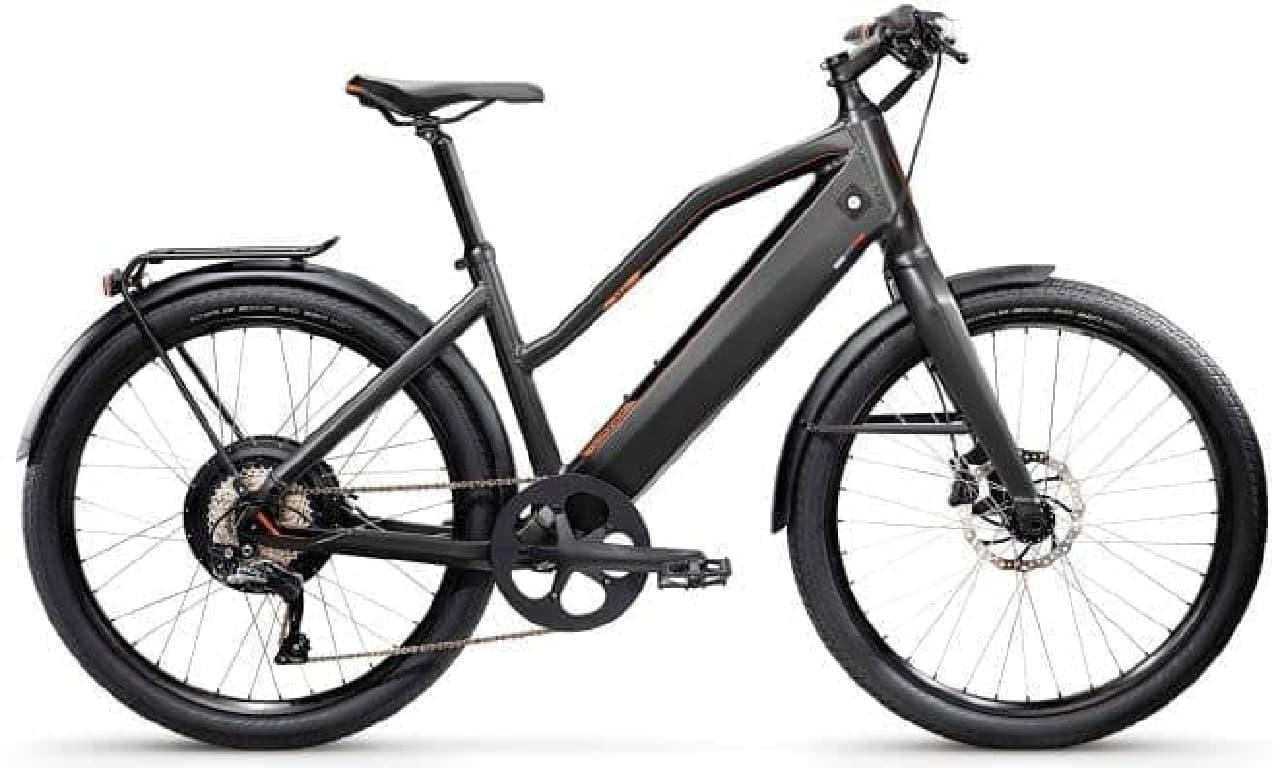 """元祖""""電動アシスト自転車に見えない電動アシスト""""、Stomerの「ST1 X」"""