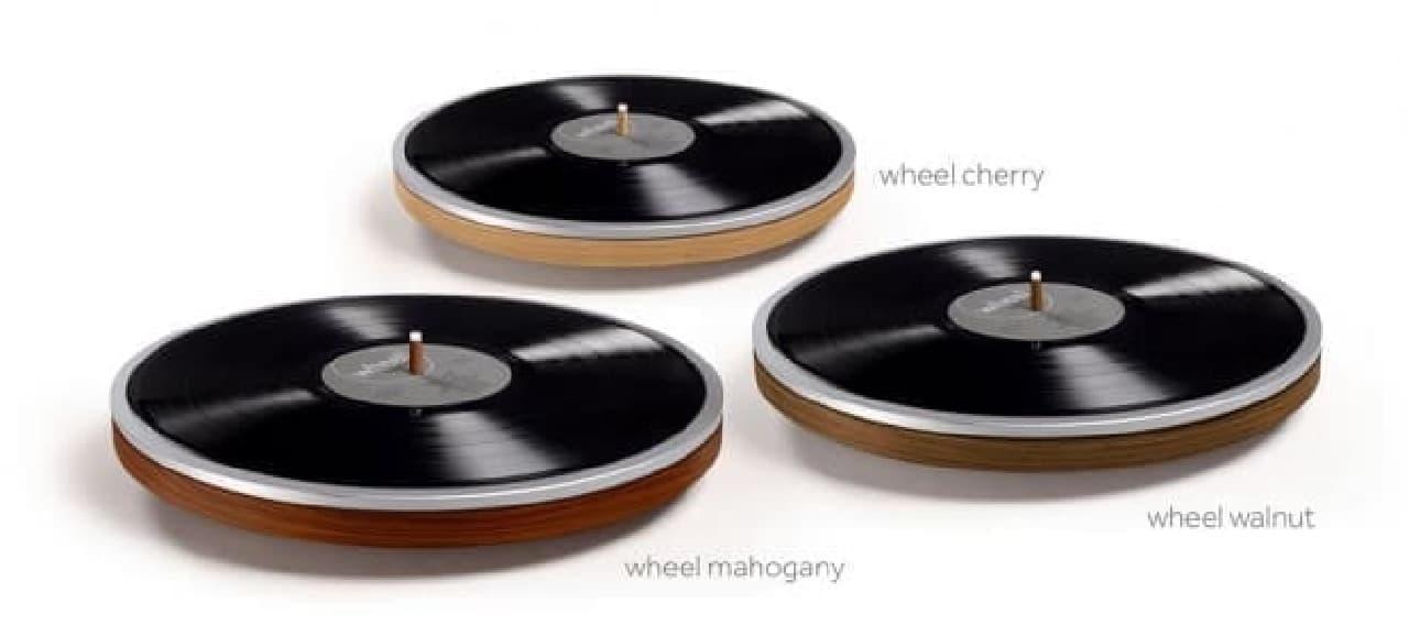 LPサイズのプレーヤー「Wheel」