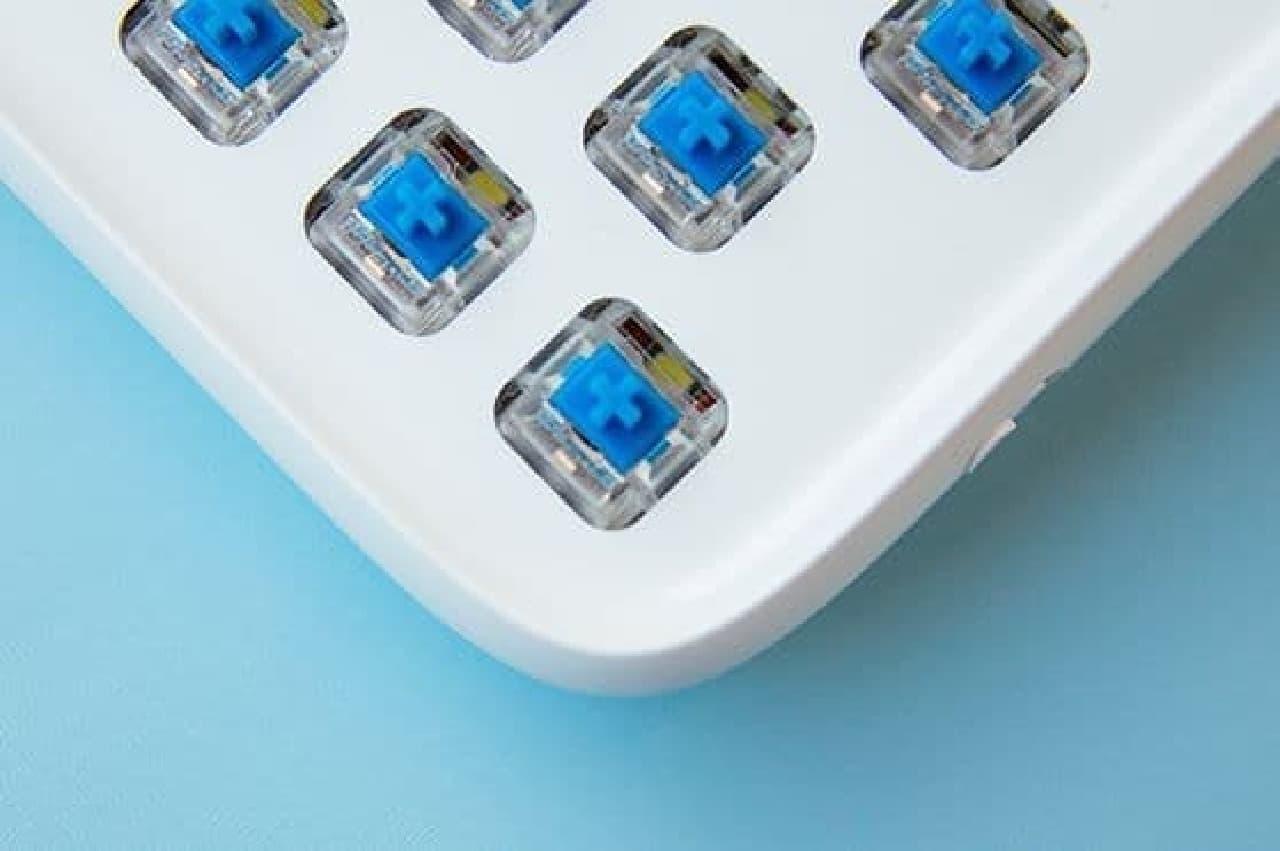 デザイナーやライター向けのBluetoothキーボード「Lofree」