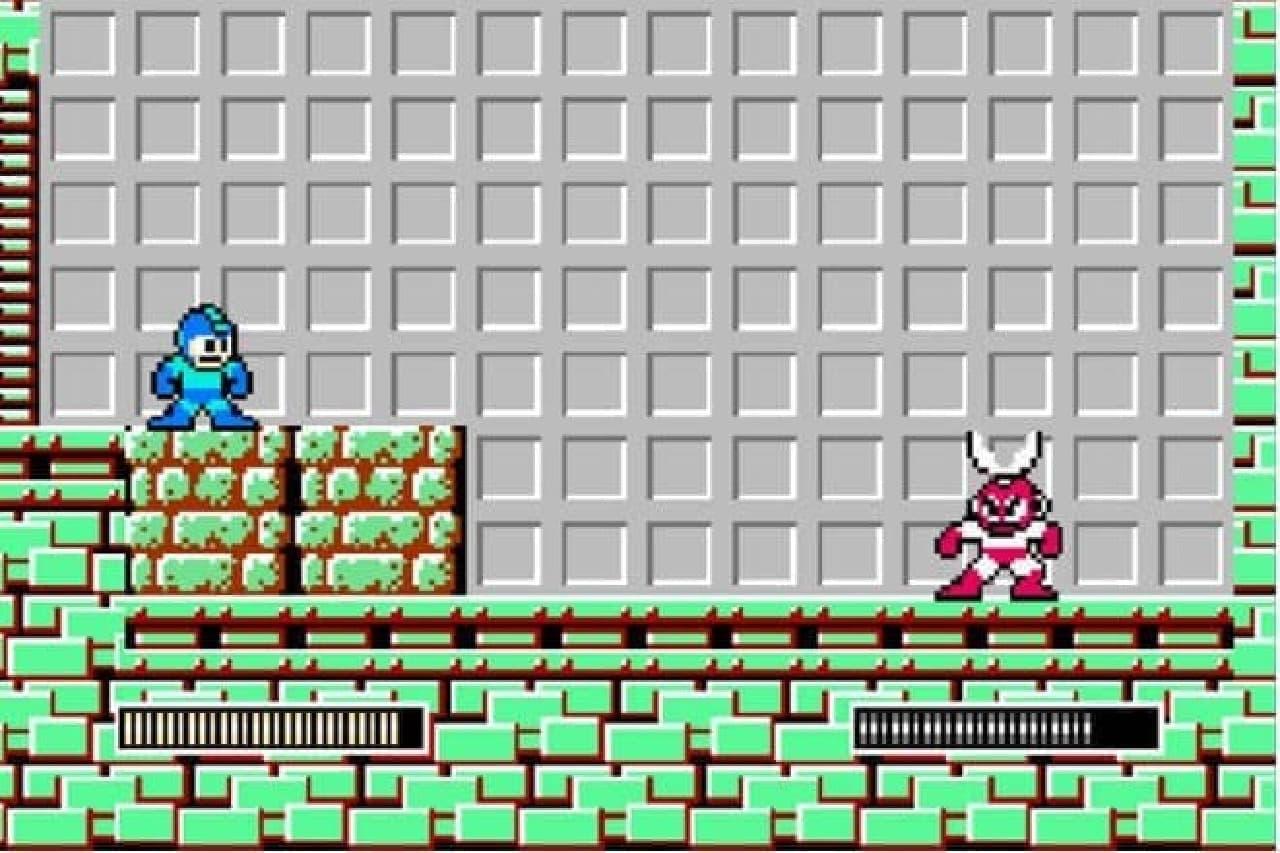 ロックマンのゲーム画面