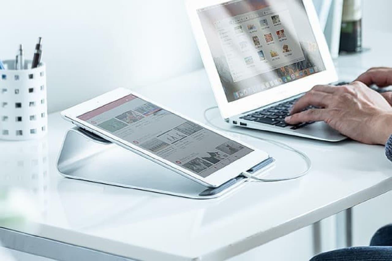 iPadの設置イメージ