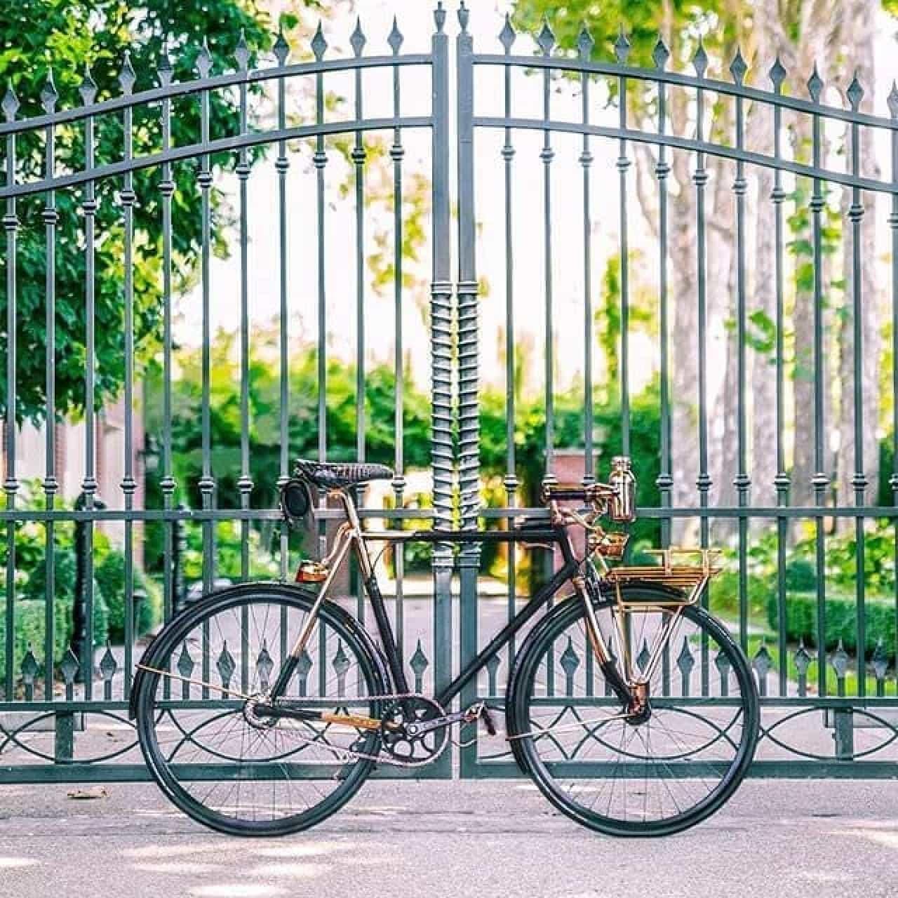 米国産ハンドメイド自転車「WHEELMEN PYTHON WRAPPED BICYCLE」