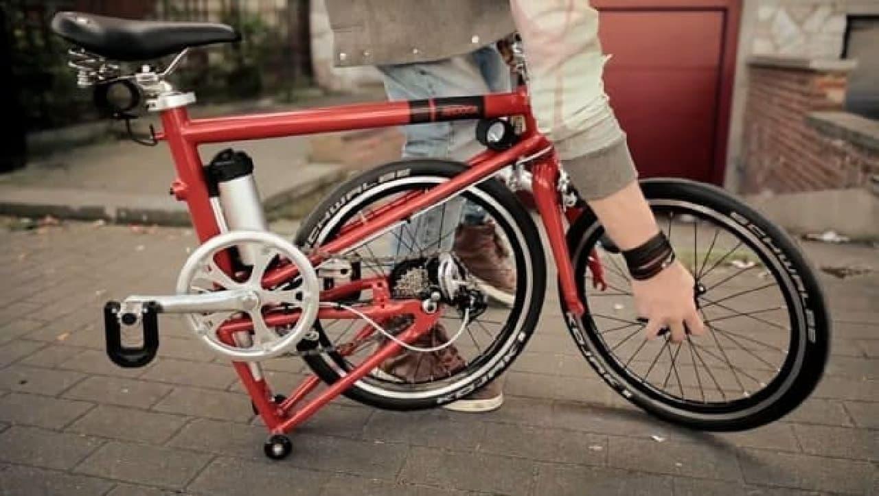 """""""電動アシストに見えない""""折り畳み電動アシスト自転車「AHOOGA」"""