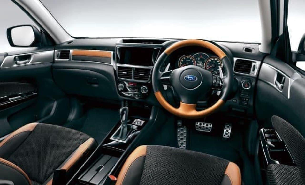 スバル、CROSSOVER7に特別仕様車「X-BREAK」を追加