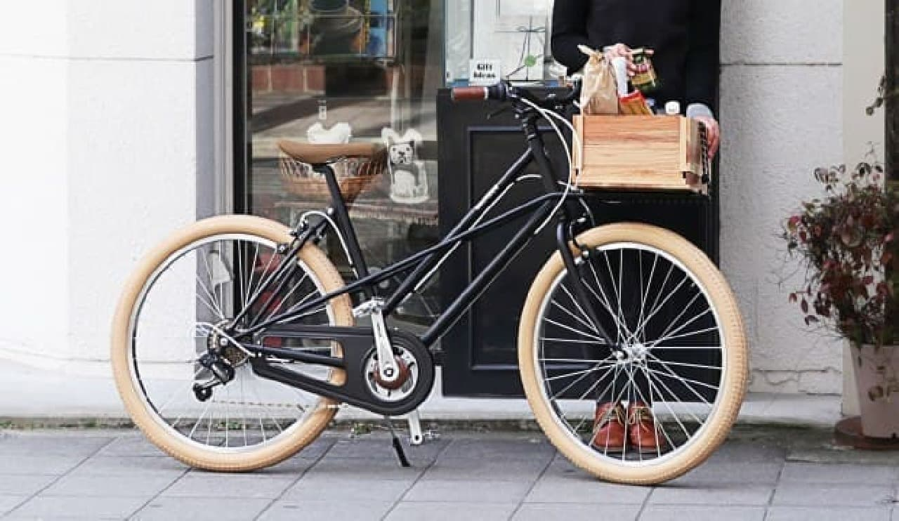 街乗り用のおしゃれなカーゴバイク Wachsenの「STLINE」