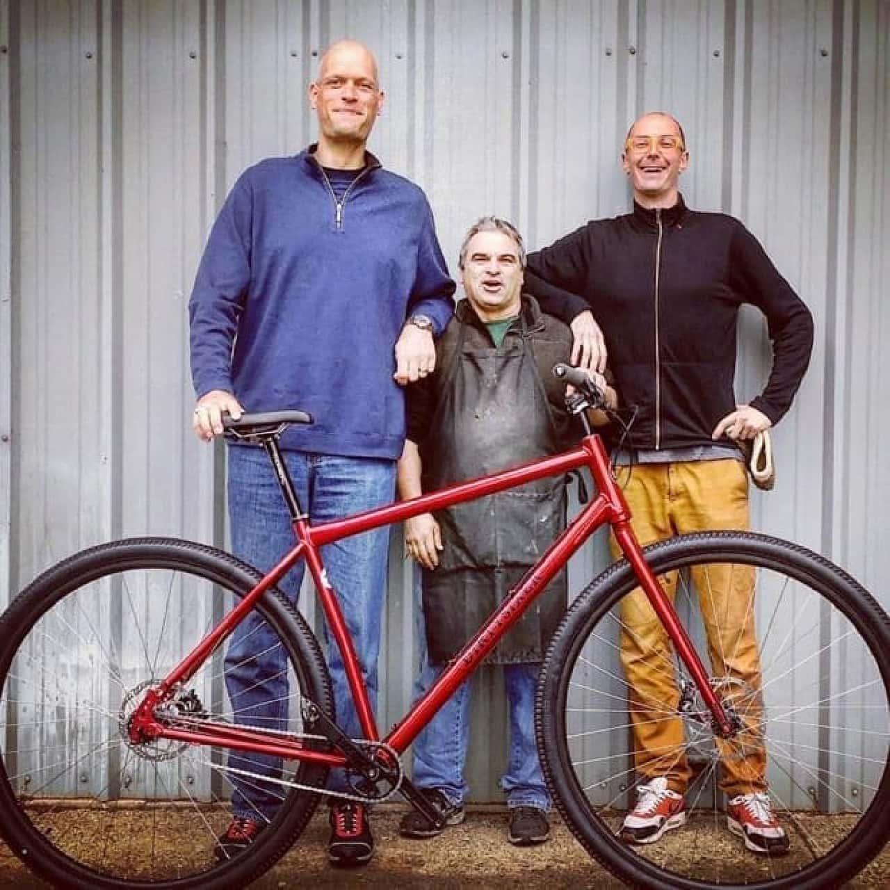 36インチの自転車「DirtySixer」