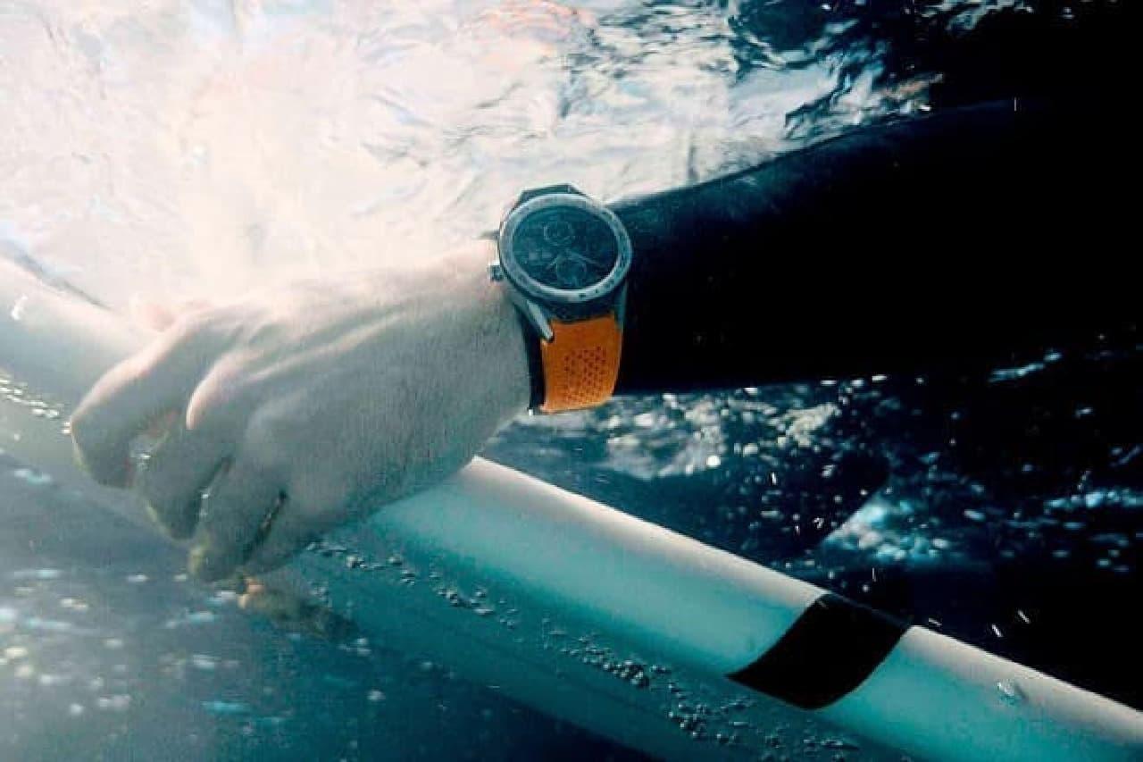 水中での利用イメージ