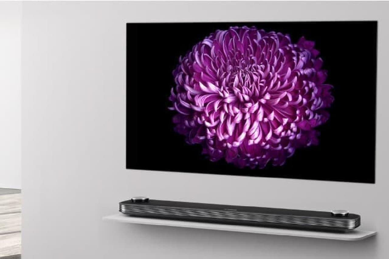 OLEDテレビのイメージ