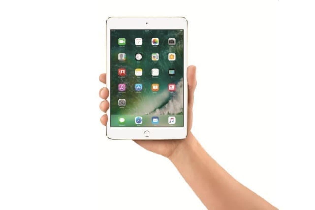 iPad mini 4のイメージ