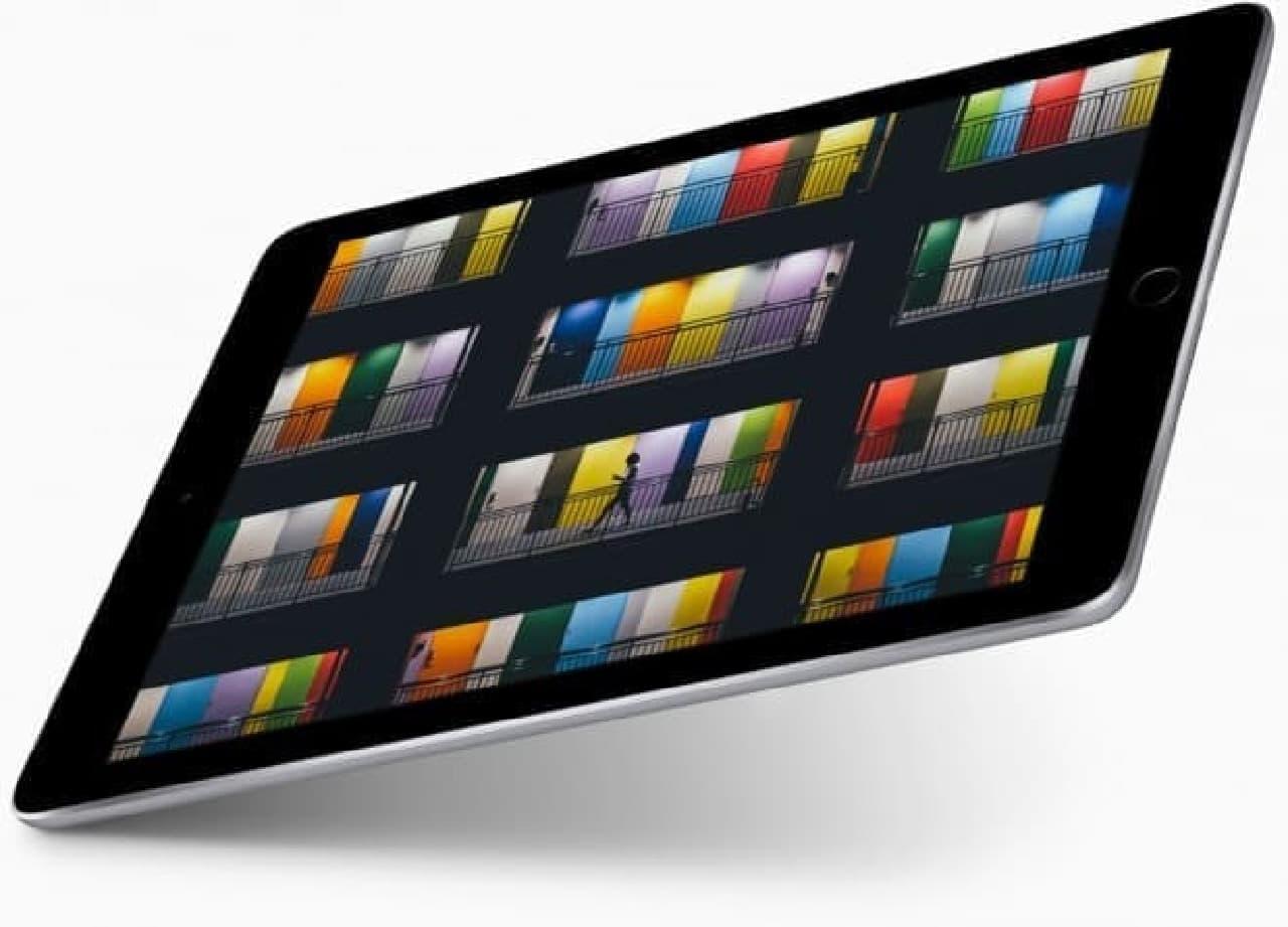 新型iPadのイメージ
