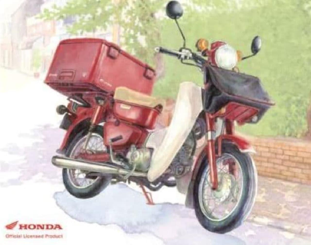 「郵政カブ」、電動バイクに?