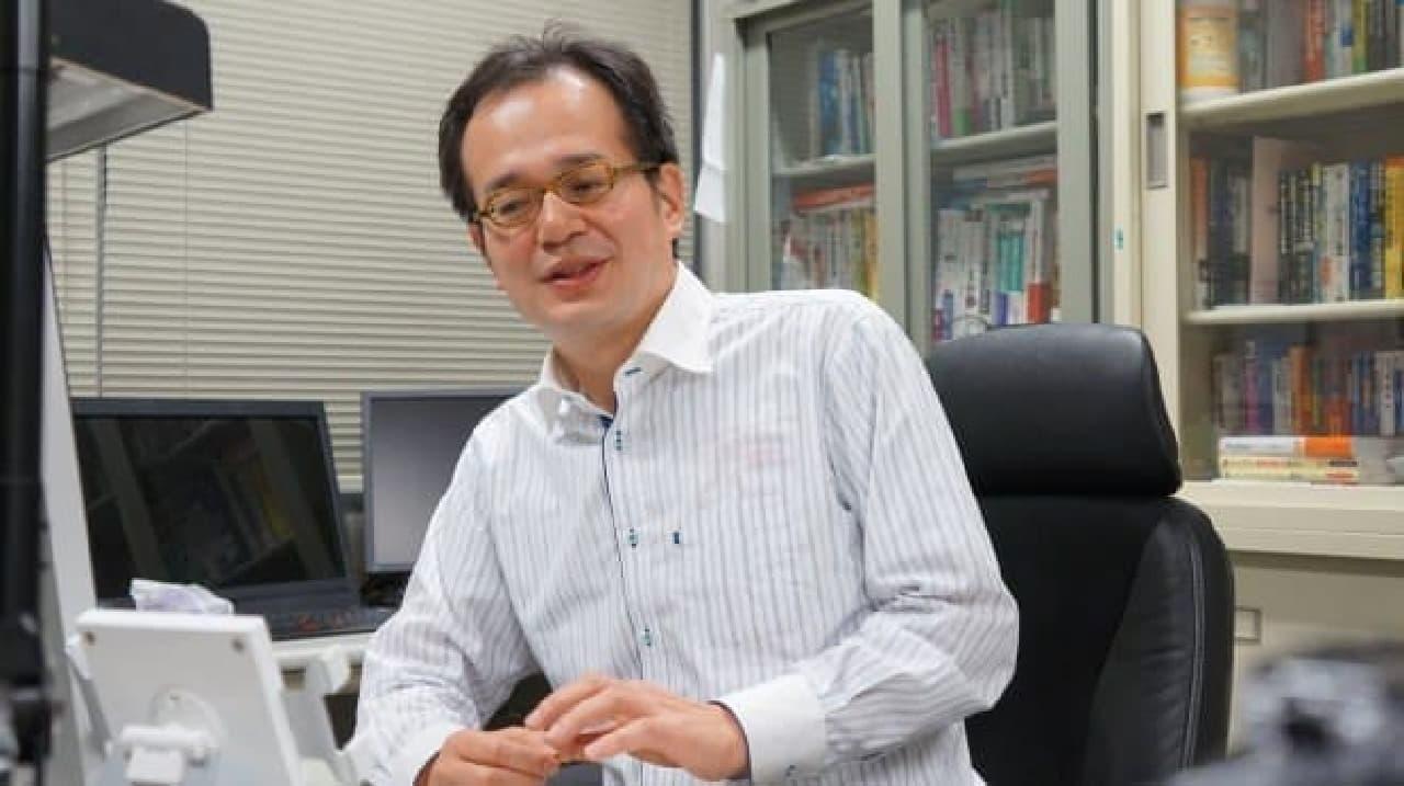 金沢工大、中沢教授の写真