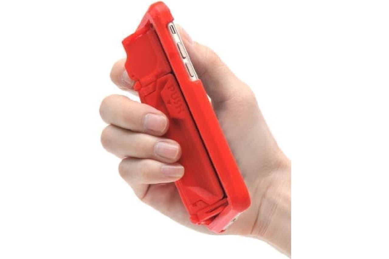 変形するiPhoneケース