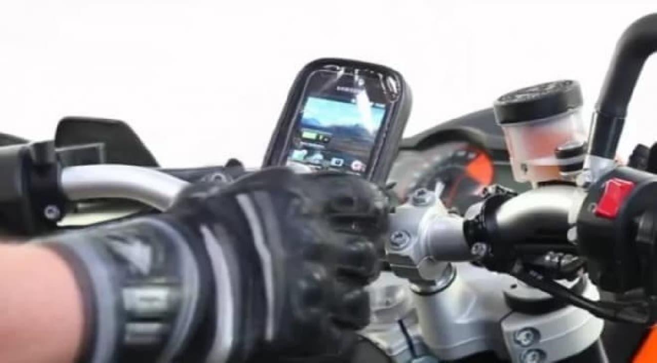 バイク専用のナビ、「TurnPoint」