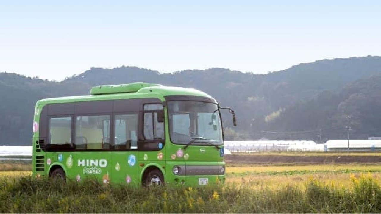 自動運転バスのイメージ