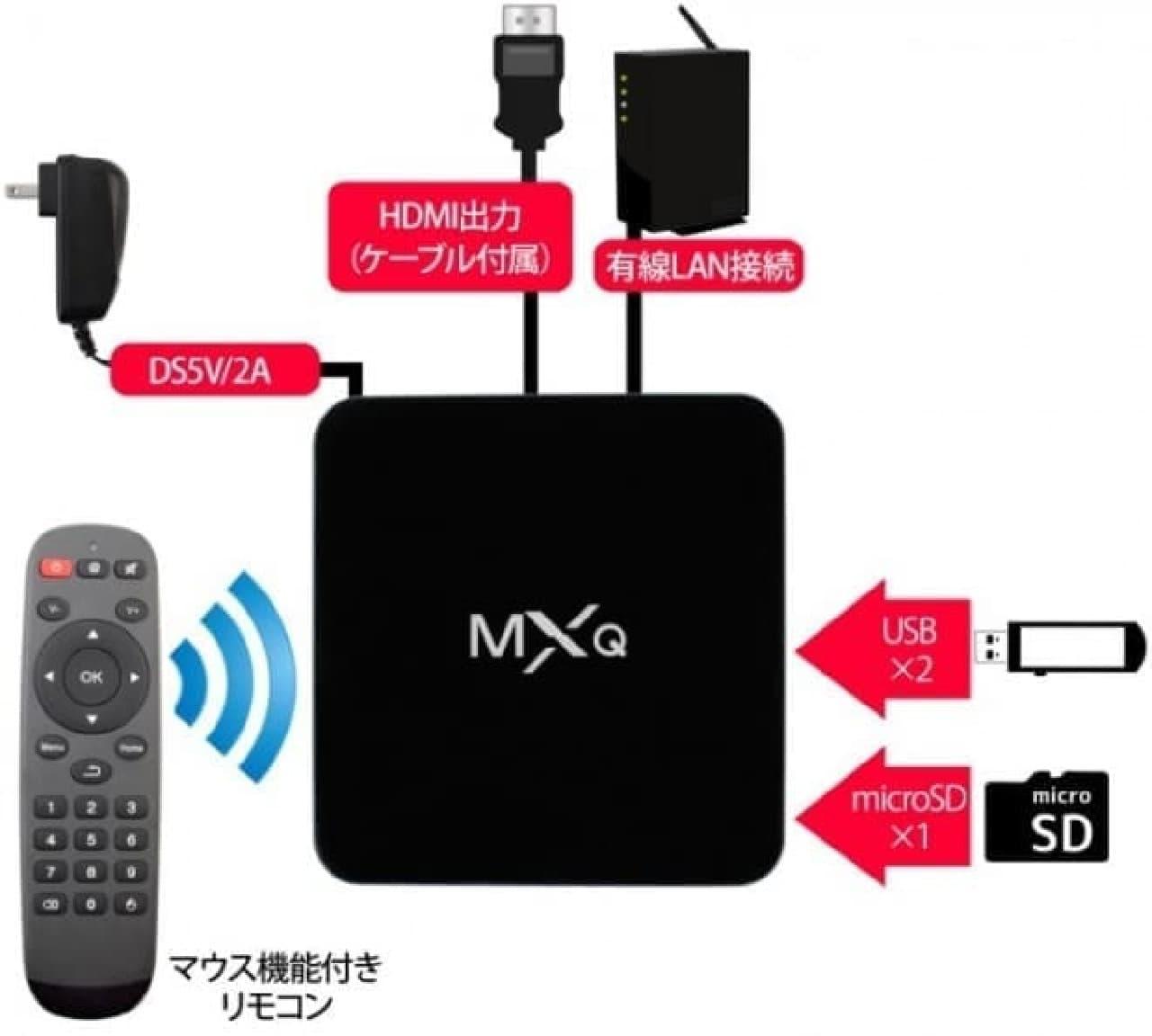 Android6.0.1を搭載したデスクトップPC…HDMIコンパクトメディアプレーヤー