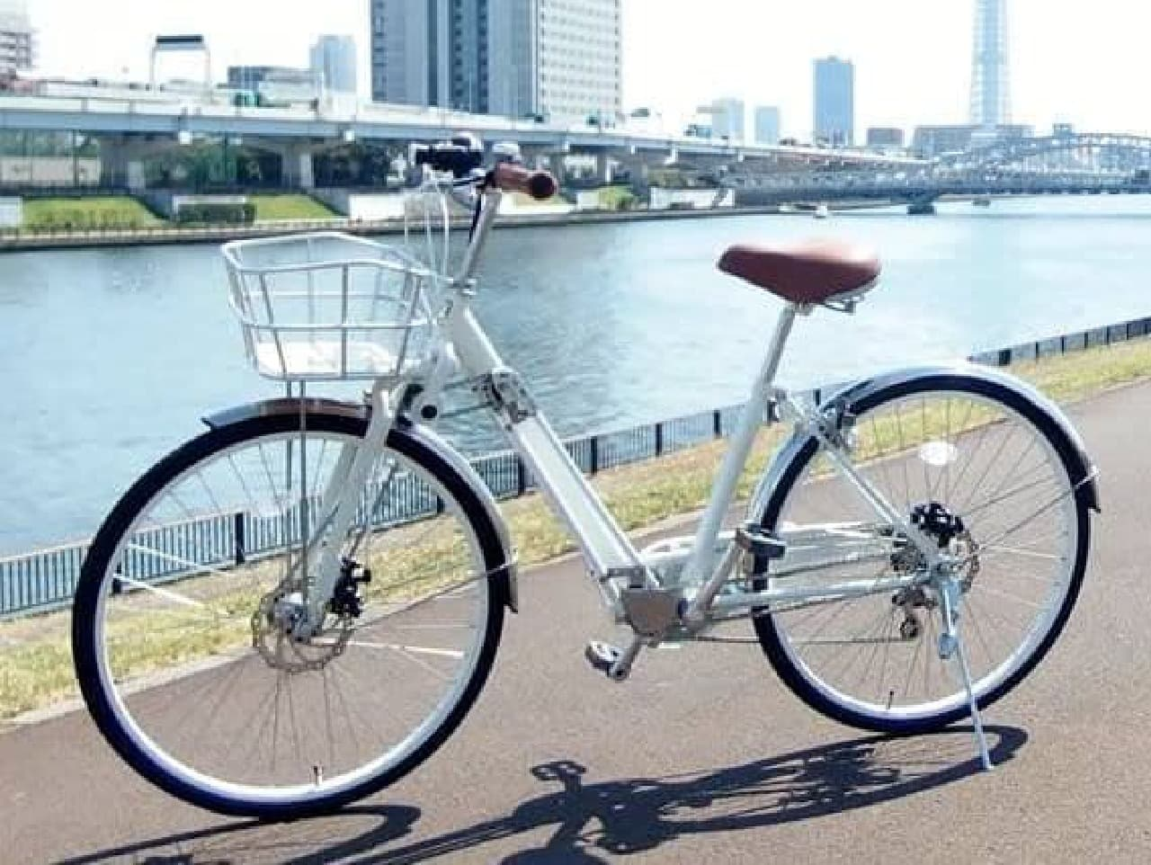 2WD(前後輪駆動)の自転車「DOUBLE(ダブル)」に、ママチャリバージョン「
