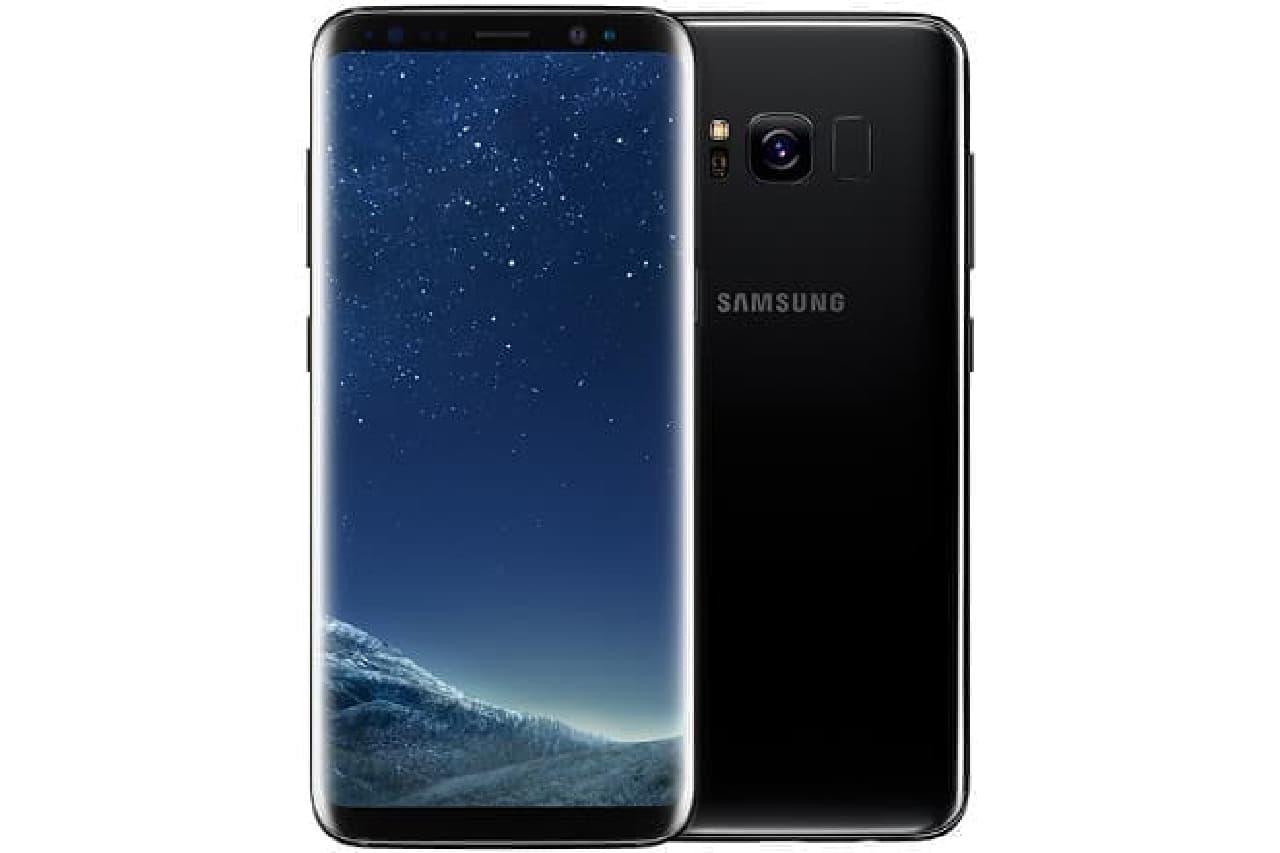 Galaxy 8の表裏の画像