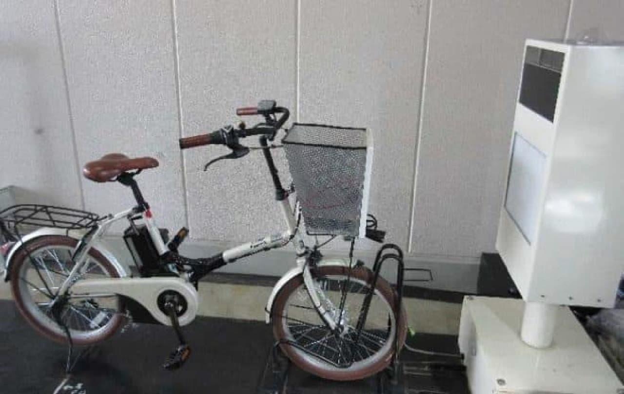 電動アシスト自転車のワイヤレス充電