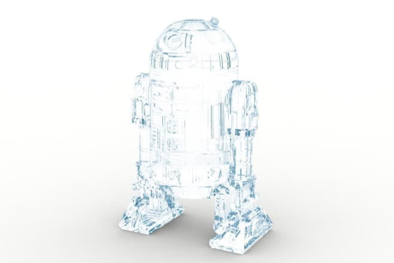 R2-D2そっくりの氷