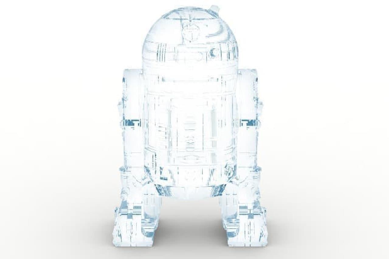 R2-D2そくりの氷のイメージ
