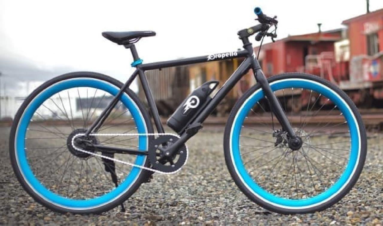 電動アシストに見えるけど、ダサくない電動アシスト自転車「Propella 2.0」