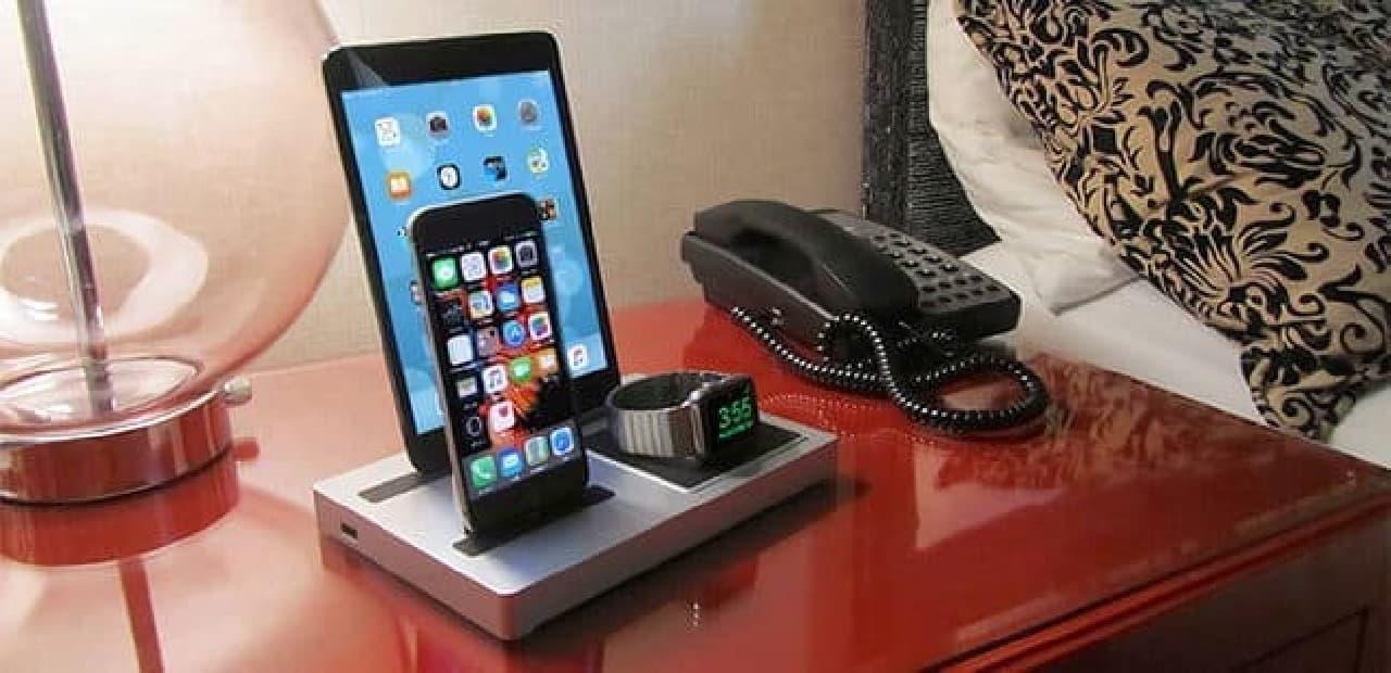すべてのApple製品を一箇所にまとめるAppleデバイス専用Dock「エボラス3」使用後