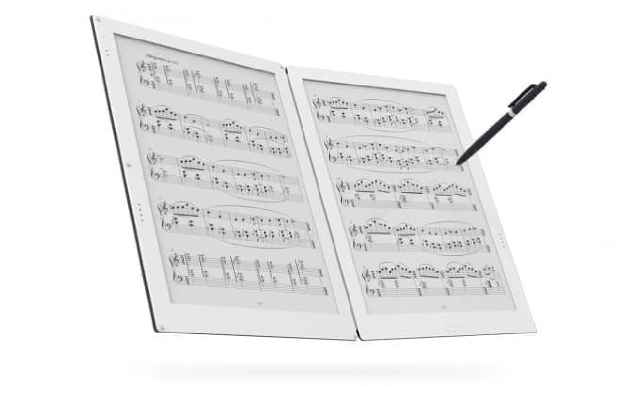 電子ペーパー楽譜