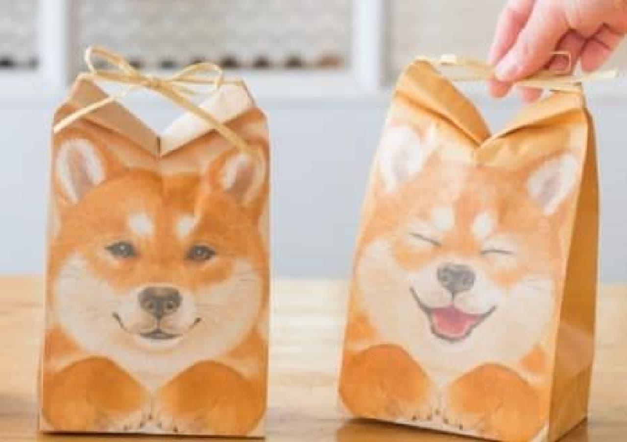 「ピンッ!と耳が立つ 柴犬おすそわけ袋」販売中