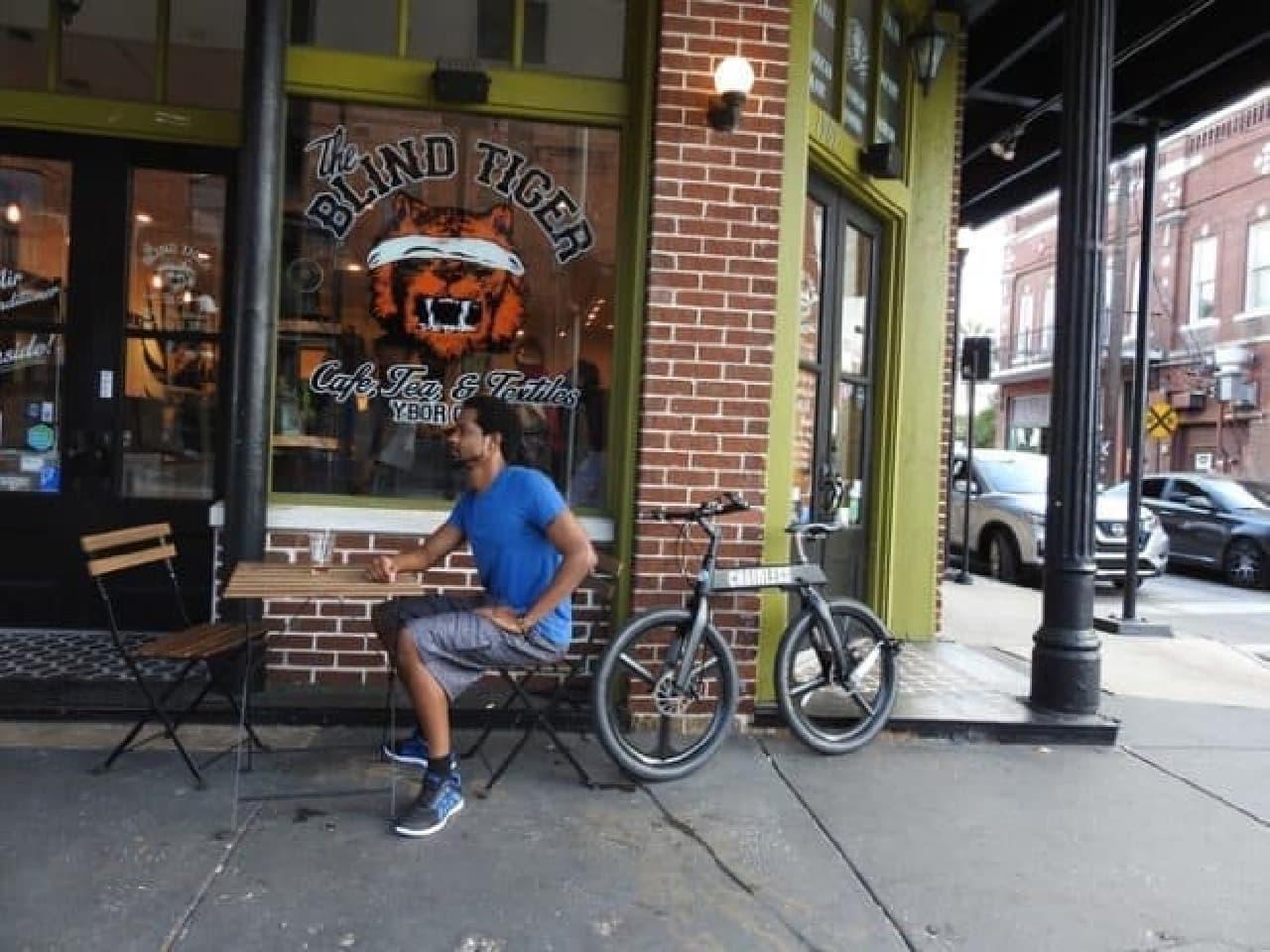 チェーンのない自転車「Chainless」…後輪を直接漕ぐ
