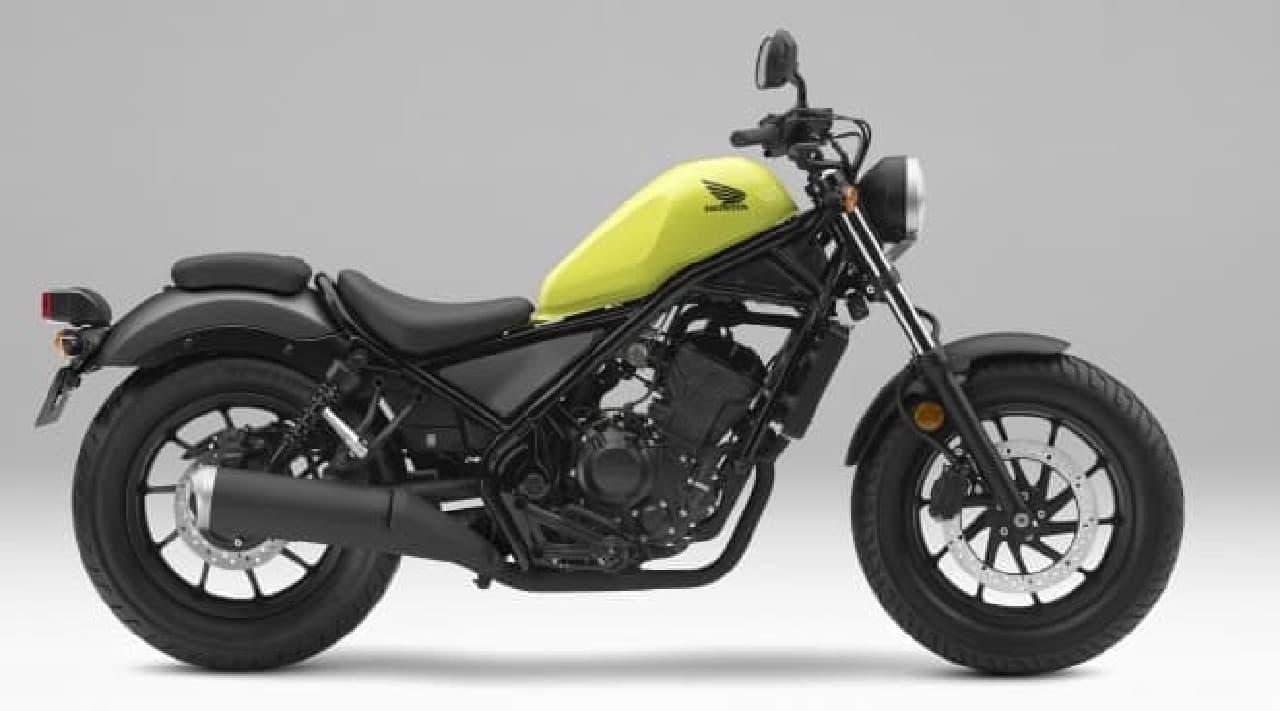 ホンダ、新型クルーザーモデル「レブル250」「レブル500」発売