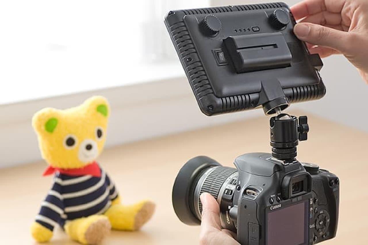 カメラ用LEDライト