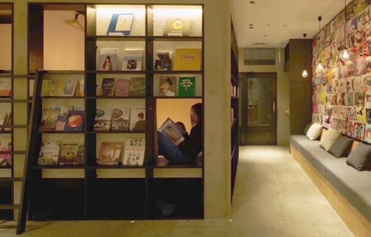 泊まれる本屋「BOOK AND BED TOKYO 福岡店」