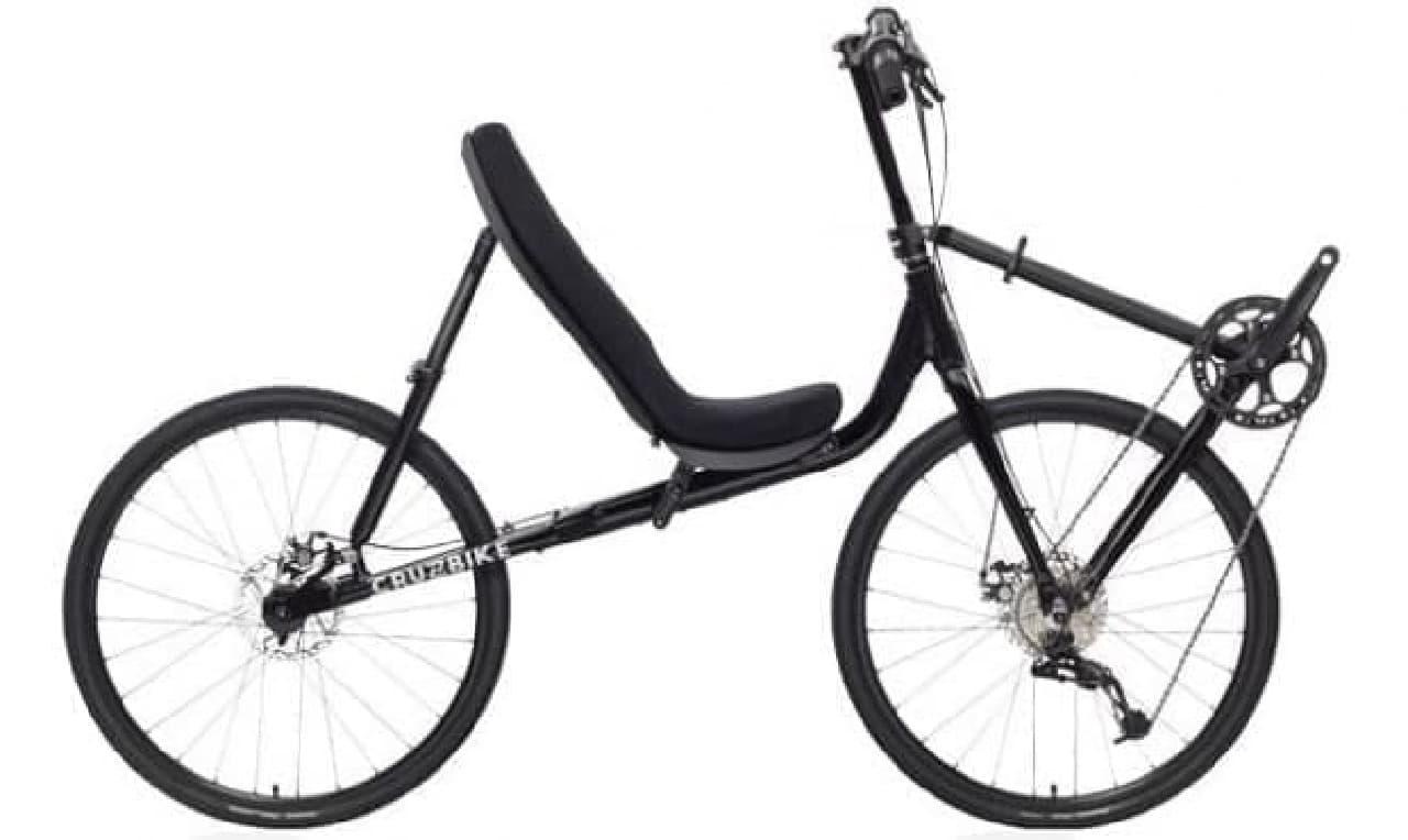 Cruzbikeのエルゴノミックな「T50」