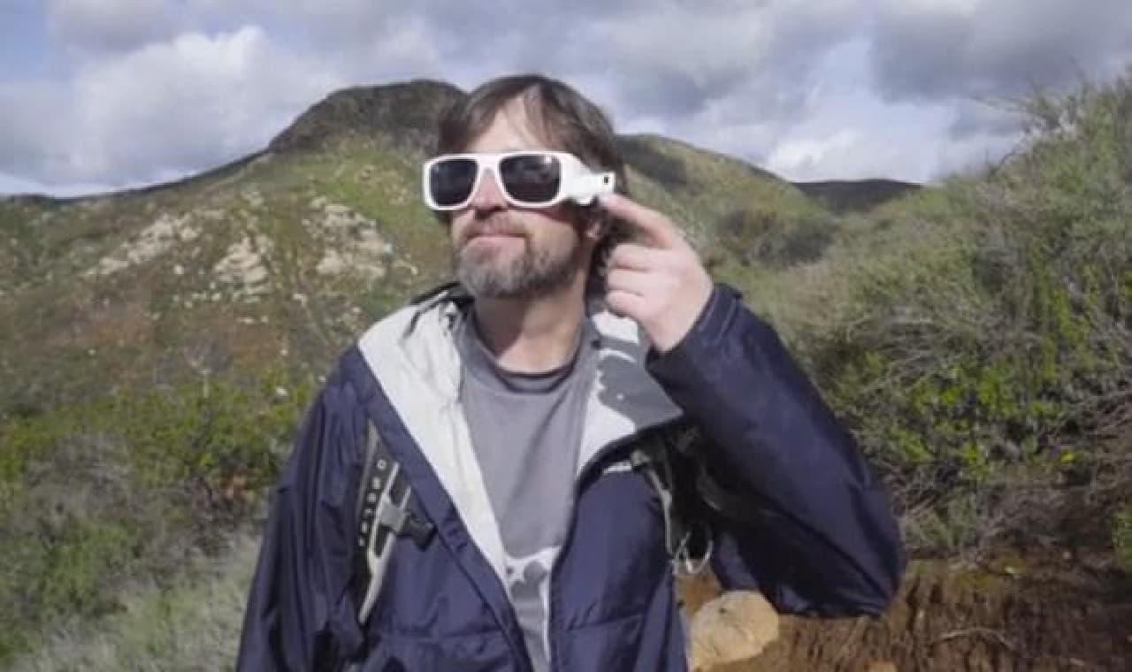 サングラス型アクションカメラ「FaceShot」