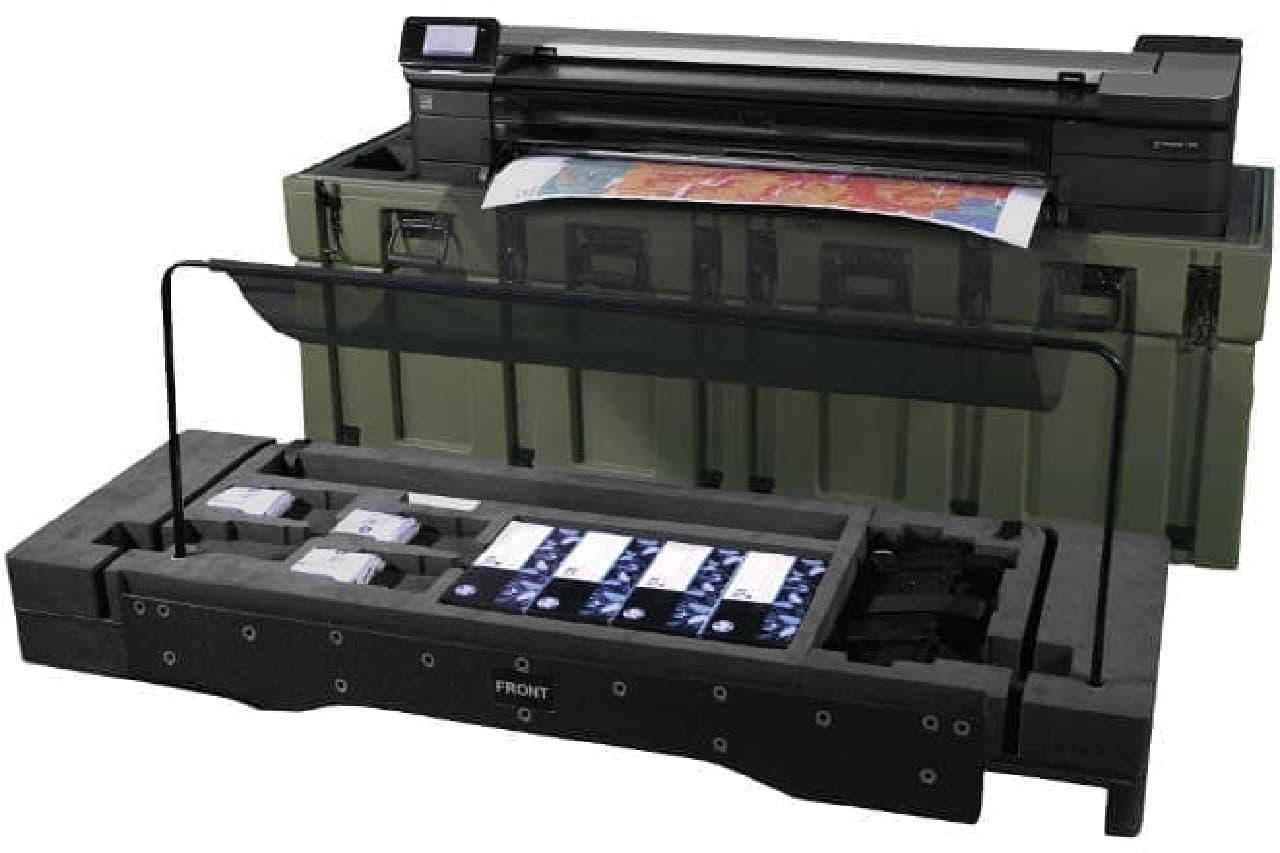 軍用規格のプリンター