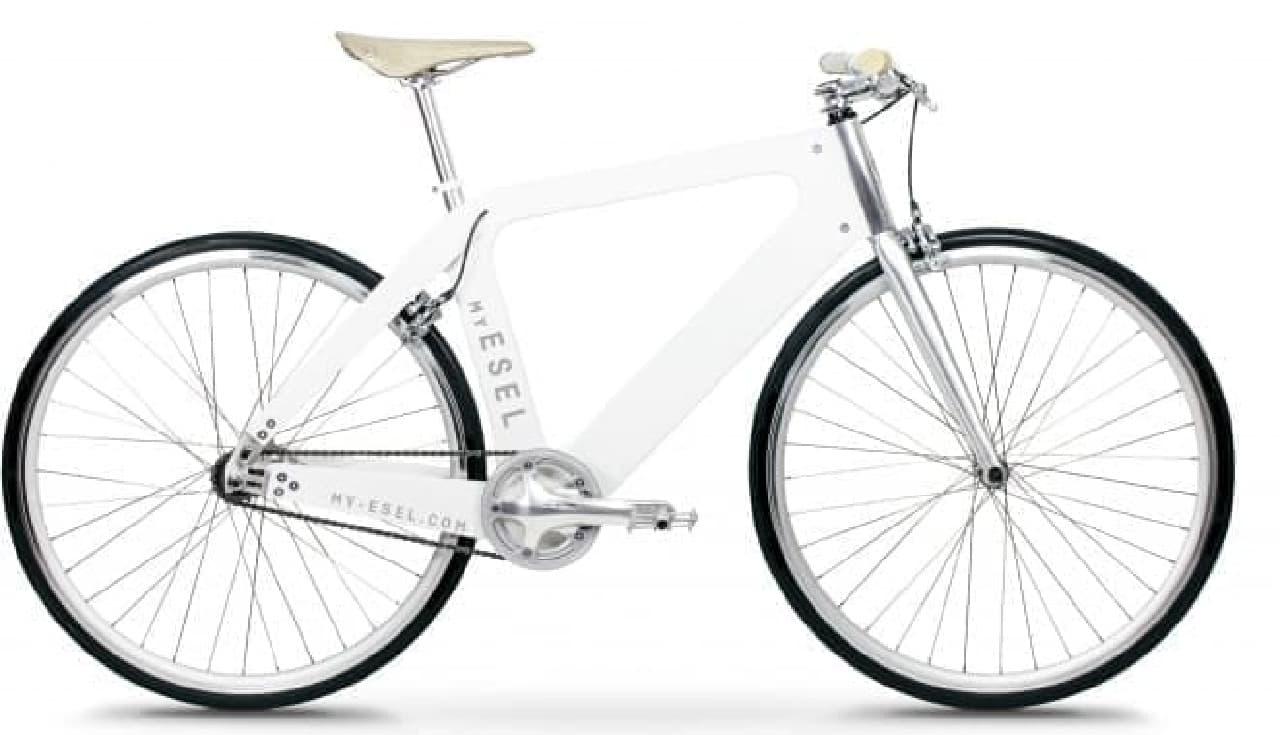 オーダーメイドな木製フレーム自転車「My ESEL」