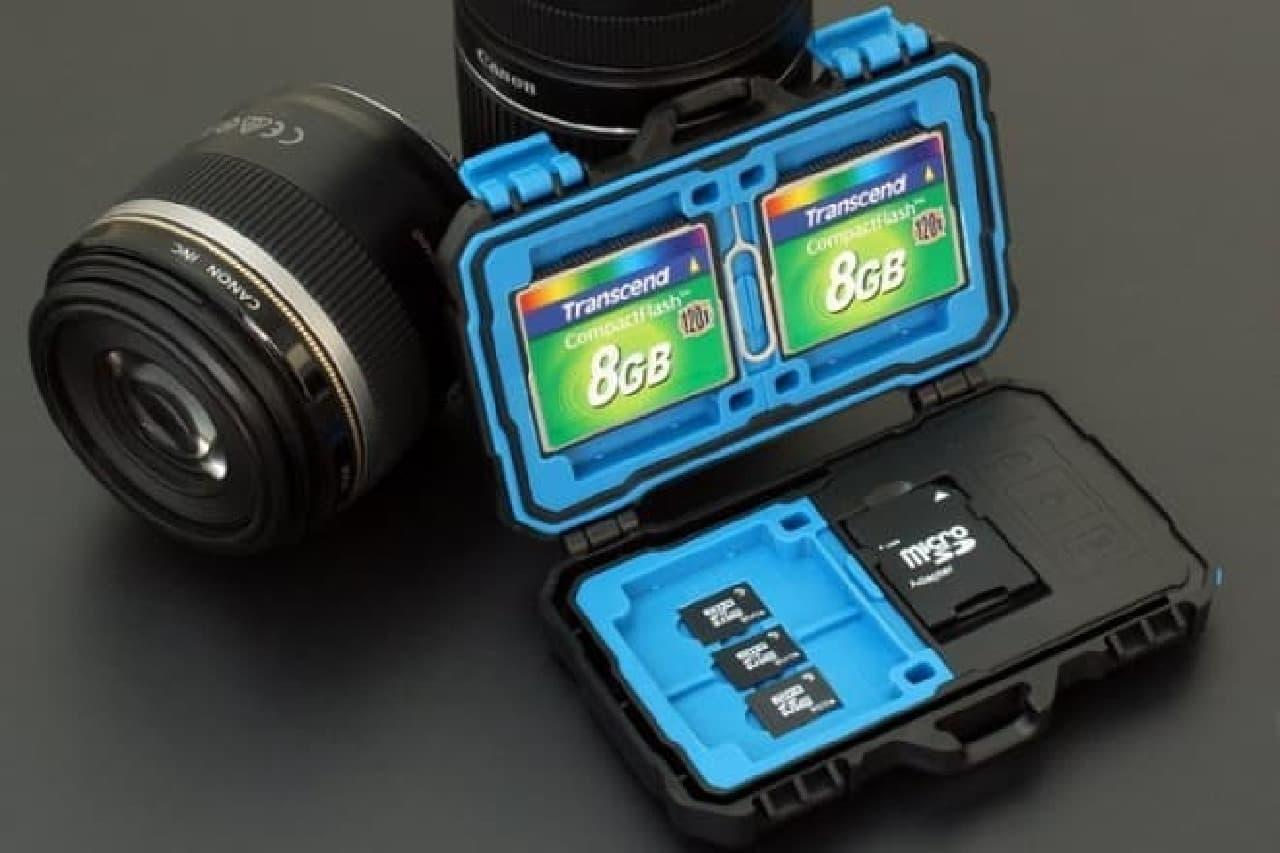 カメラとの組み合わせ例