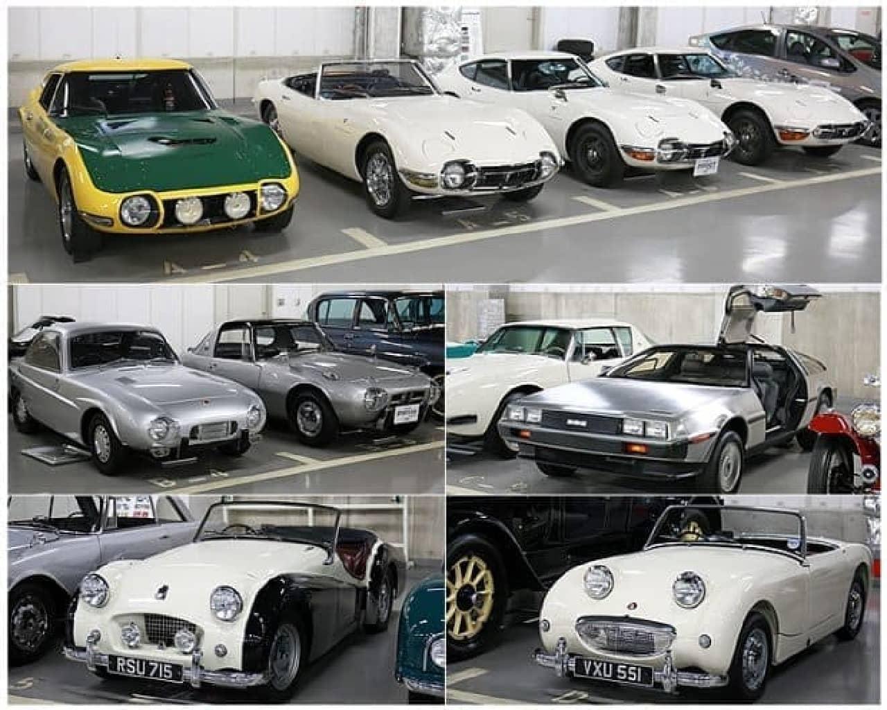 トヨタ自動車の展示