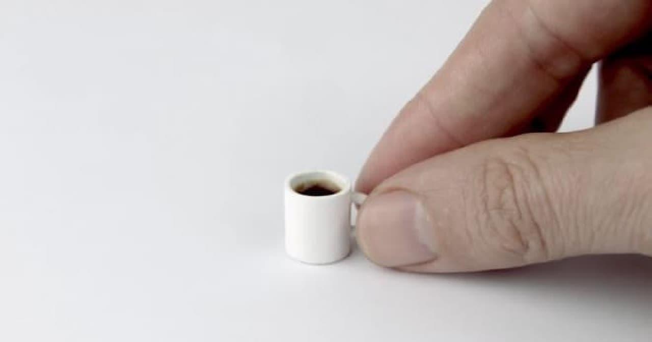世界一小さなコーヒー登場