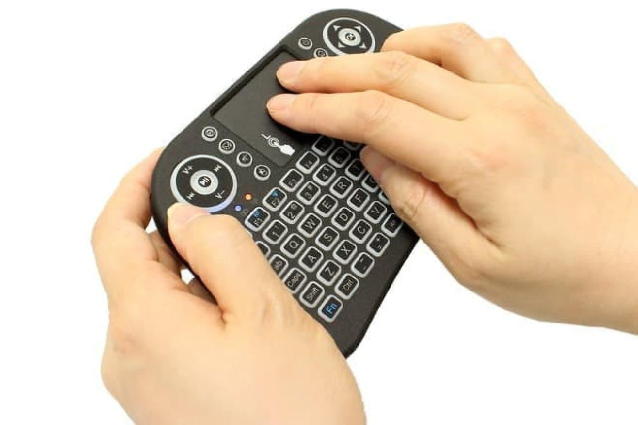 無線式キーボード