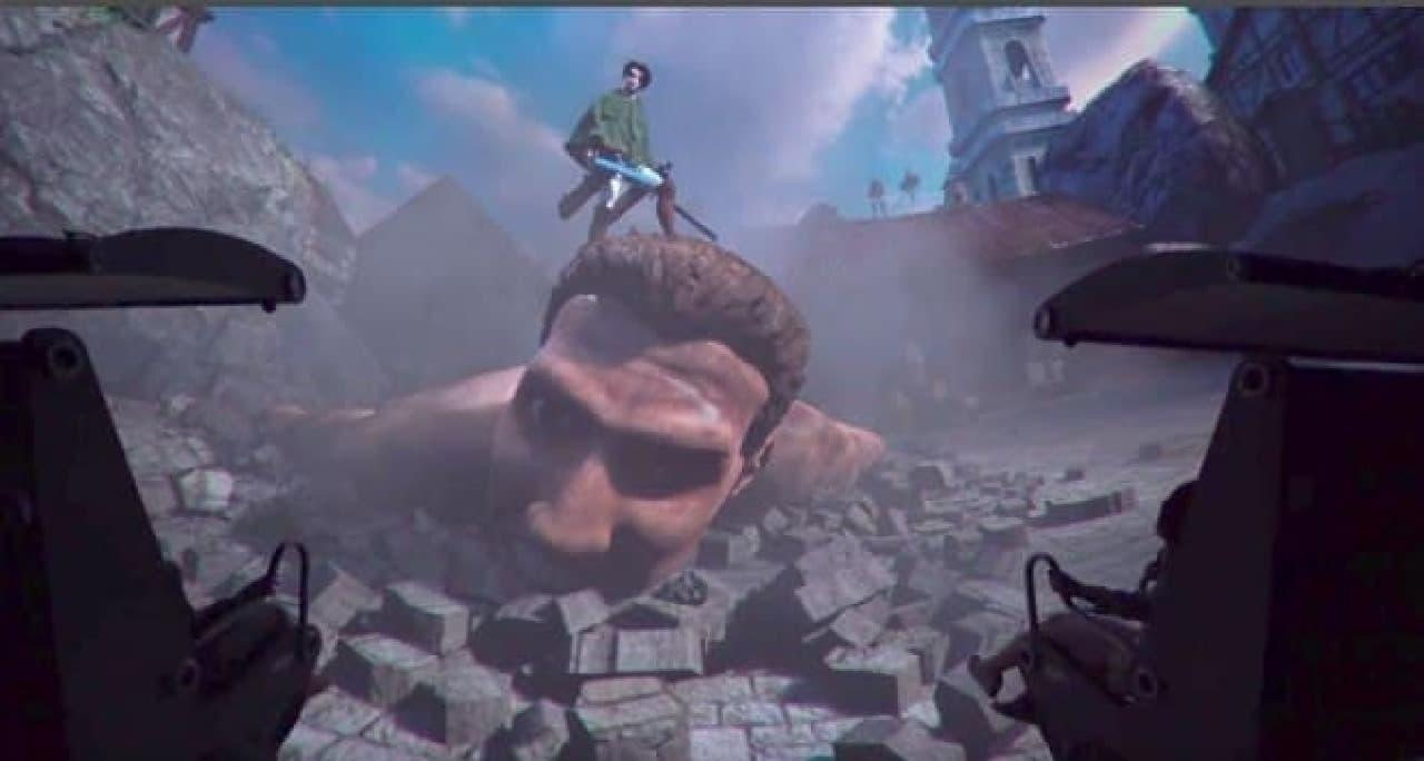 「進撃の巨人 THE RIDE ~トロスト区奪還作戦~」は、シアター型アトラクション